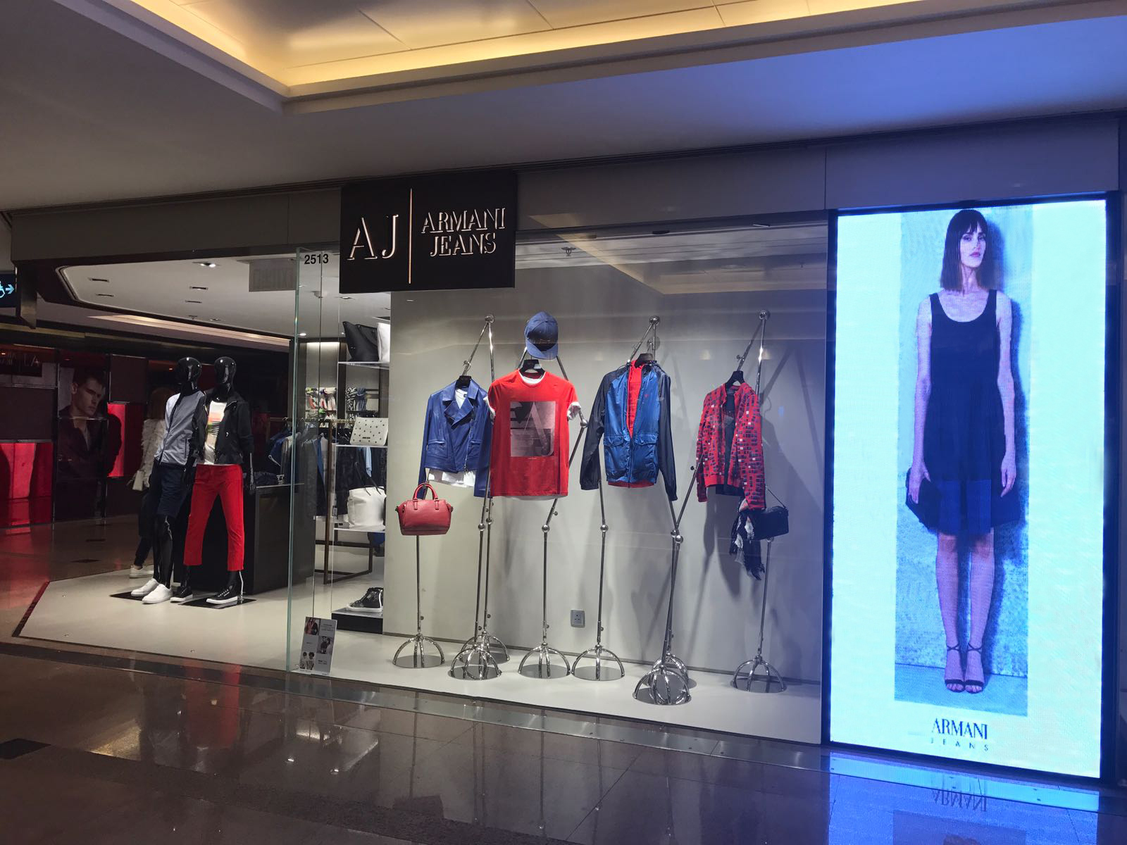 Armani Jeans Store, The Harbour City, Hong Kong (Giorgio Armani Hong Kong) 542c2e4be14