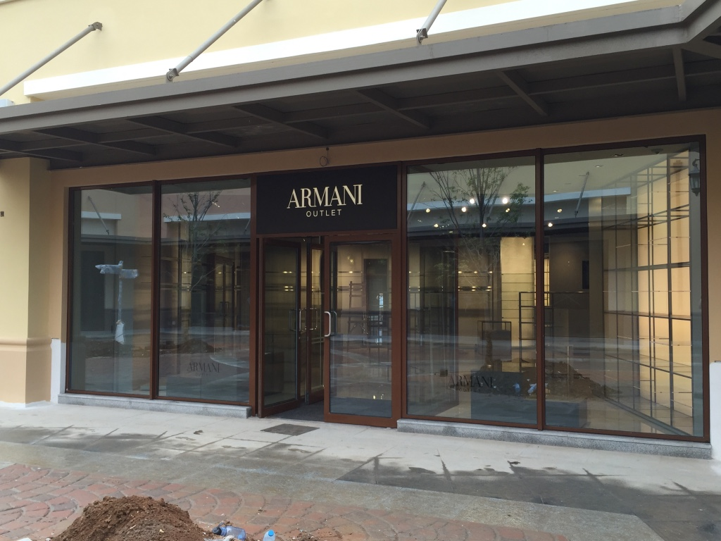 Armani outlet premier mall beijing giorgio armani hong for Armadi outlet